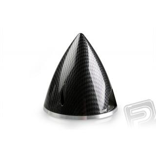 Profi kužel 63mm černý (imitace carbon)