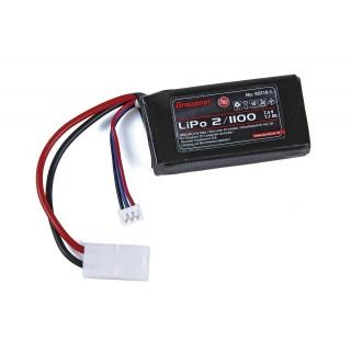 LiPo-Acu Graupner 2/1100 7,4V s TAM konektorem