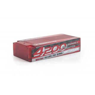 P5-HV Real Shorty LCG GRAPHENE-2 4200mAh Hardcase - 7,6V - 120C/60C