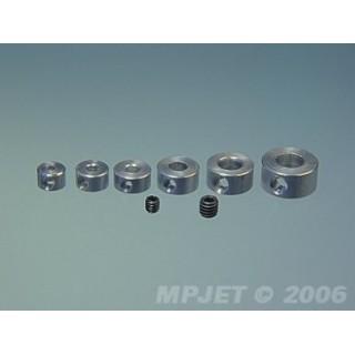 2809 durál rögzítő gyűrűk 3mm (4 db)
