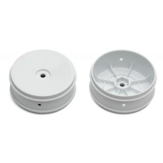 Přední disky 61 mm bílé pro 2WD (HEX 12 mm) - 2 ks