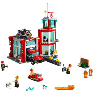 LEGO City - Tűzoltó állomás