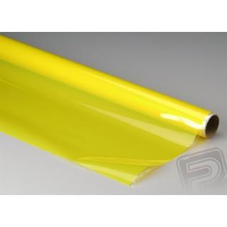 Monokote transparentní 182x65cm žlutý