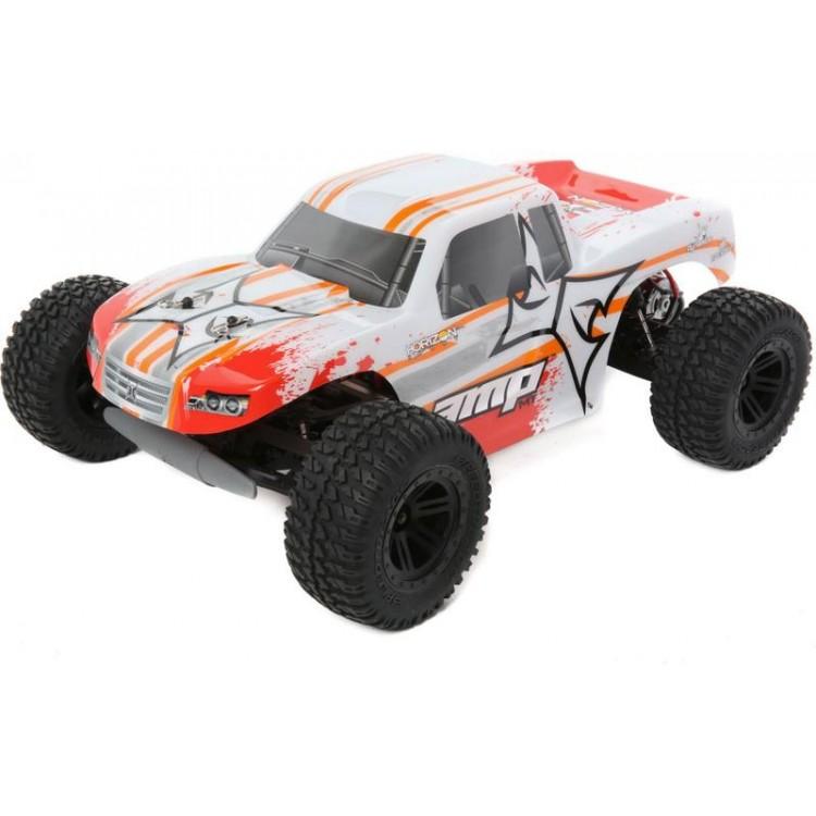 ECX AMP Monster Truck 1:10 2WD RTR bílá/oranžová