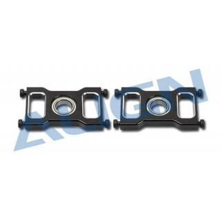 Kovové lože pro kuličkové ložisko, černé pro T REX 550E