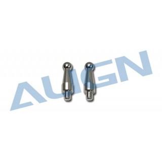 Kulové čepy, typu F pro T REX 550E/600