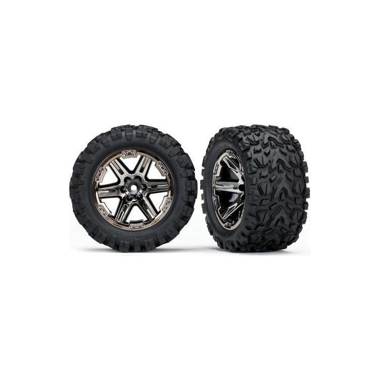 """Traxxas kolo 2.8"""", disk RXT černý chrom, pneu Talon Extreme (2) (zadní)"""