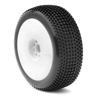 Enduro (Soft) nalepené na EVO diskách (bílé)