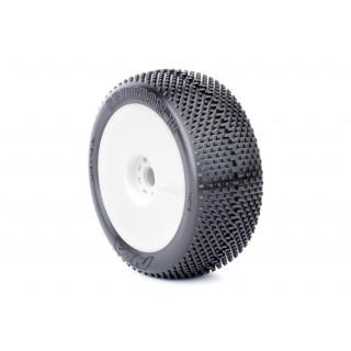 Gridiron II (Ultra Soft) nalepené na EVO diskách (bílé)