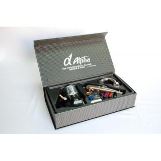 ALPHA A852 .21 5+2 csatornás Off Road Competition belső égésű motor (3,5ccm) - Combo szett  - EFRA2090