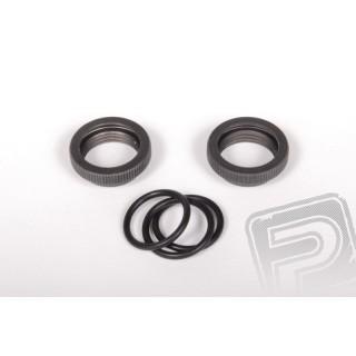 Axial Aluminum 13mm nastavitelné kroužky (2 ks)