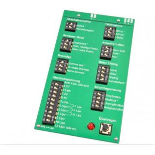 Programovací karta regulátorů VTX