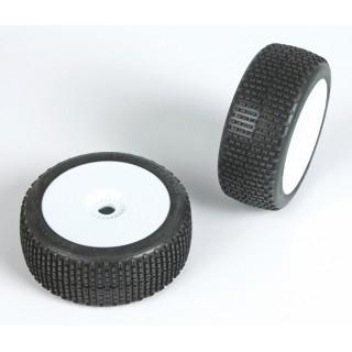 FREERIDE (super soft směs) Off-Road 1:8 Buggy gumy nalep. na bílých disk. (2ks.)