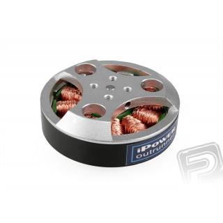 Váltakozó áramú motor billenő kamerafüggesztésre 4008-150/24, kábelek 300mm