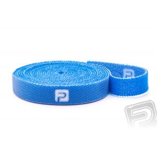 Suchý zip oboustranný 10x500mm PELIKAN modrý