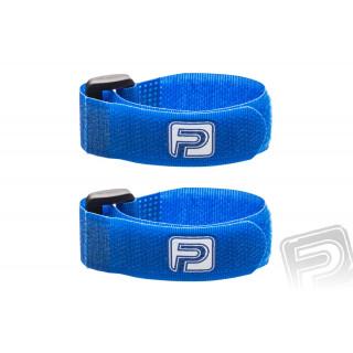Kábelkötegelő tépőzárral 20cm PELIKAN (2db) kék
