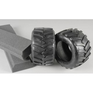 Monster Truck gumy, medium směs/ včetně vložek, 2ks.