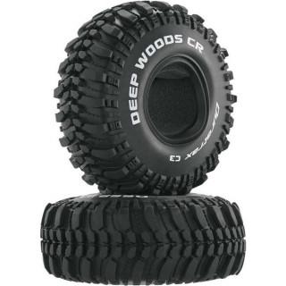 """Duratrax pneu 1.9"""" Deep Woods CR Crawler C3 (2)"""