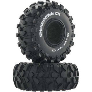 "Duratrax pneu 2.2"" Showdown CR Crawler C3 (2)"