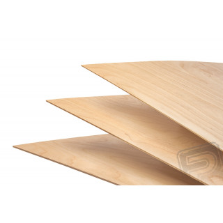 Nyírfa rétegelt lemez FLEXI 2.5mm 30x60cm PELIKÁN