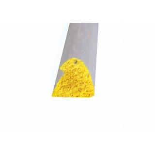 Belépő él 8x9x1000mm, sárga