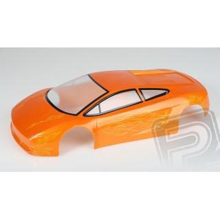 Lakkozott karosszéria Himoto 1:10 Lamborghini (narancssárga)