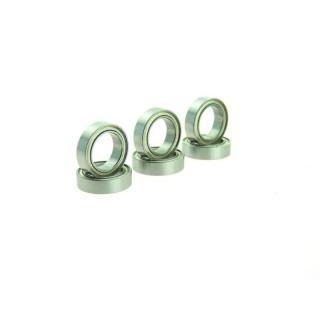 Kuličkové ložisko 15x10x4 mm (6 pcs)