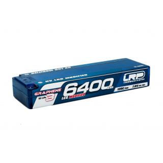 HV LCG Modified GRAPHENE-3 6400mAh Hardcase Akku - 7.6V LiPo - 120C/60C
