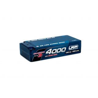 HV LCG Stock Spec Shorty GRAPHENE-3 4000mAh Hardcase Akku - 7.6V LiPo - 130C/65C