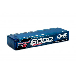 HV LCG Stock Spec GRAPHENE-3 6000mAh Hardcase Akku - 7.6V LiPo - 130C/65C