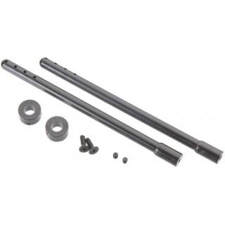 Duratrax Sloupky karosérie 115mm černé (2)