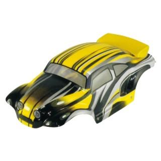 Karosszéria Beetle 1:10 sárga
