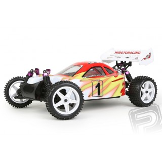 HiMOTO buggy Z-3 1:10 elektro RTR 2,4GHz piros szett