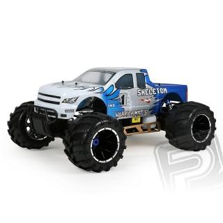 HIMOTO 1:5 MEGAP Monster truck 2,4GHz 26ccm modré