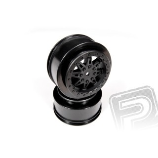 2.2 3.0 Raceline Renegade disky - 41mm (černé,2 ks)