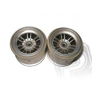 Felni, FT01 (ezüst/hátsó/2db)