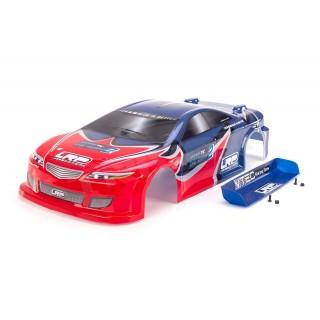 Lakkozott karosszéria HD - S10 TC, kék/piros