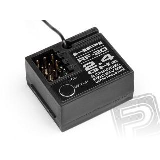 HPI RF-20 přijímač (2.4GHz /2 kanál)