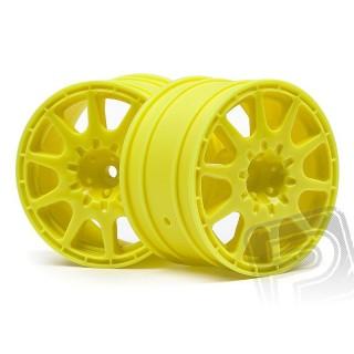 WR8 disky šíře 35 mm (2 ks) - žluté