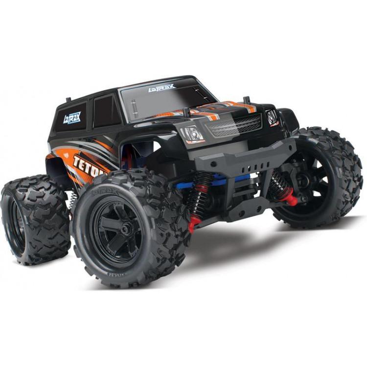 Traxxas Teton 1:18 4WD RTR oranžový