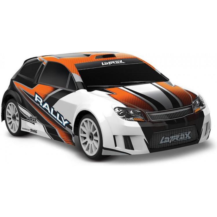 Traxxas Rally 1:18 4WD RTR oranžové