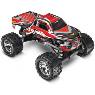 Traxxas Stampede 1:10 RTR - classic piros