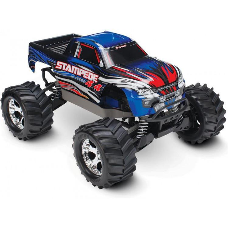 Traxxas Stampede 1:10 4WD RTR modrý