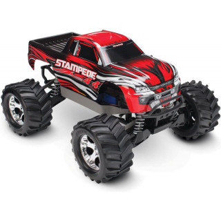 Traxxas Stampede 1:10 4WD RTR piros