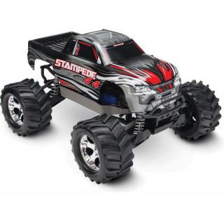 Traxxas Stampede 1:10 4WD RTR ezüst