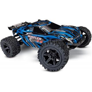 Traxxas Rustler 1:10 4WD RTR kék