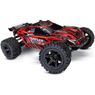 Traxxas Rustler 1:10 4WD RTR piros