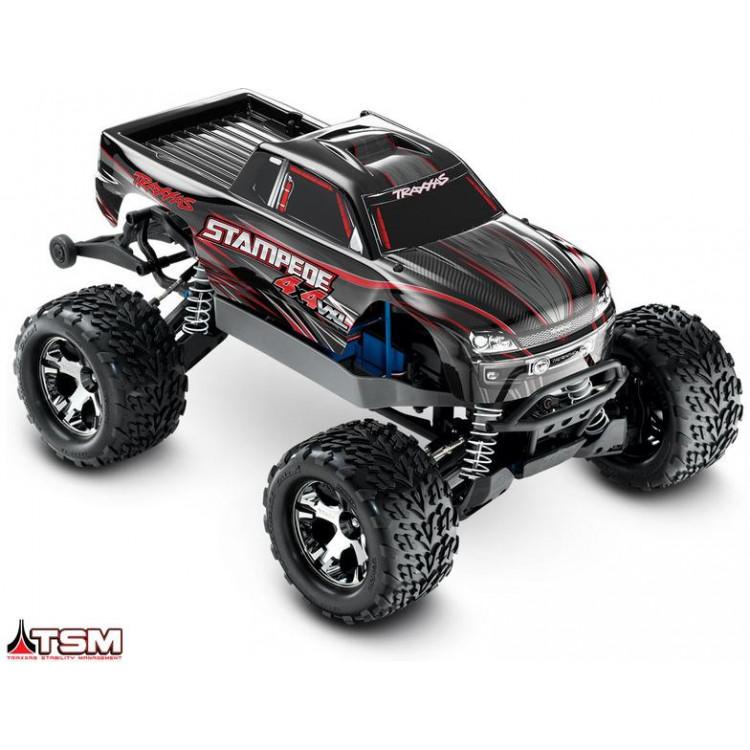 Traxxas Stampede 1:10 VXL 4WD TQi RTR černý