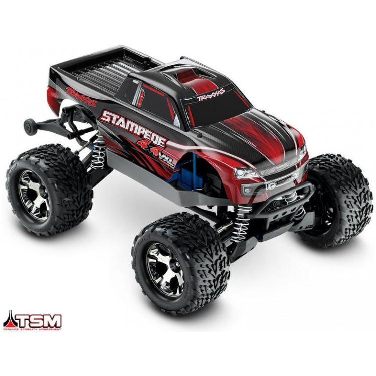 Traxxas Stampede 1:10 VXL 4WD TQi RTR červený