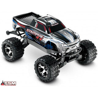 Traxxas Stampede 1:10 VXL 4WD TQi RTR ezüst